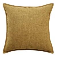 Yellow Cushion 45x45 Chenille