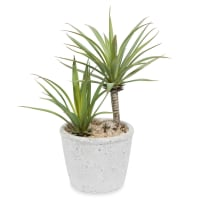 Yucca artificiale in vaso H 24 cm