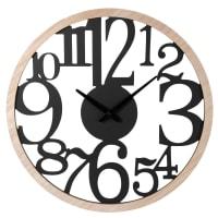 LUCAS - Zweifarbige Uhr, D50cm