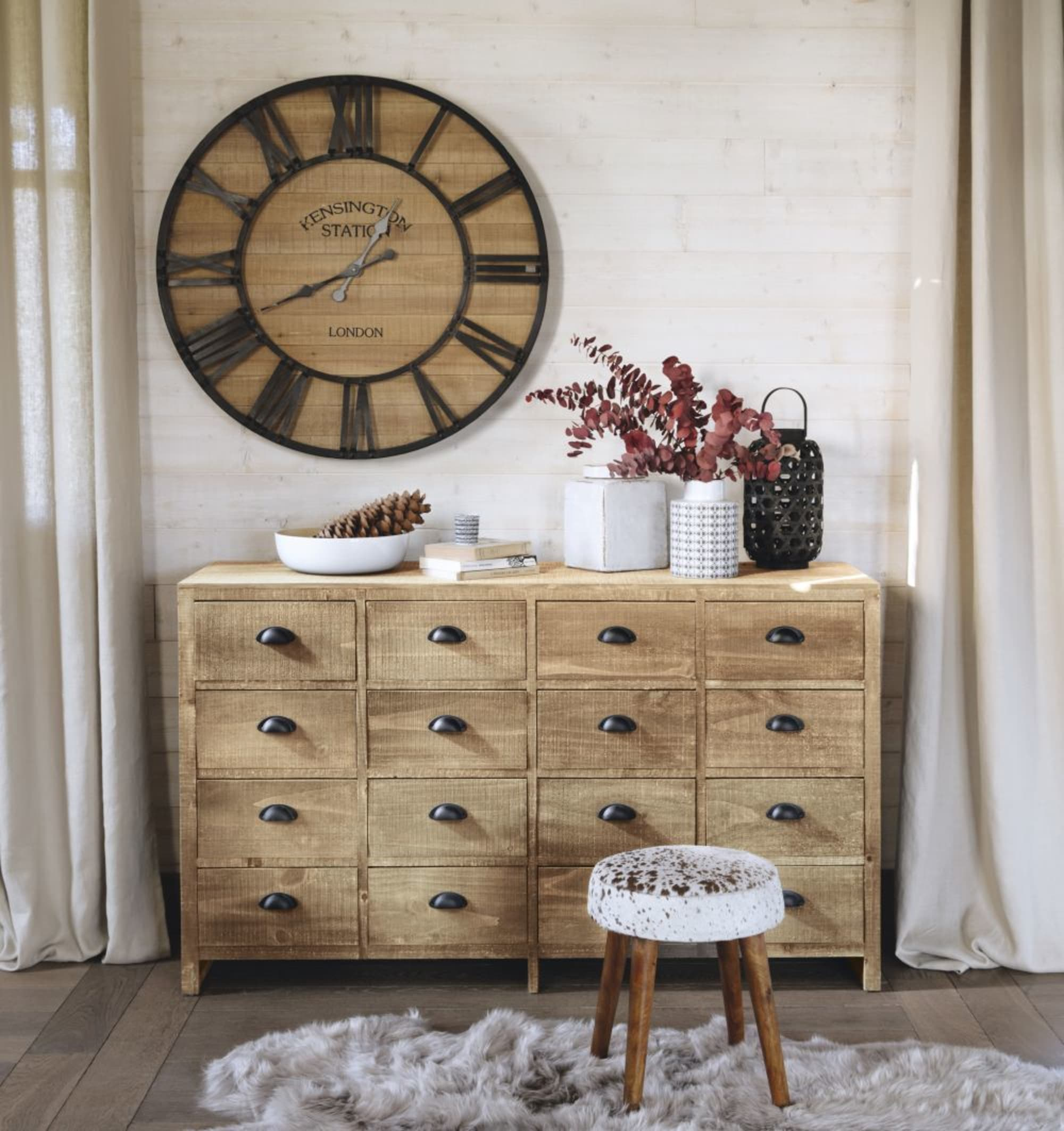 Cabinet de rangement en sapin Woodpecker - Maisons du Monde
