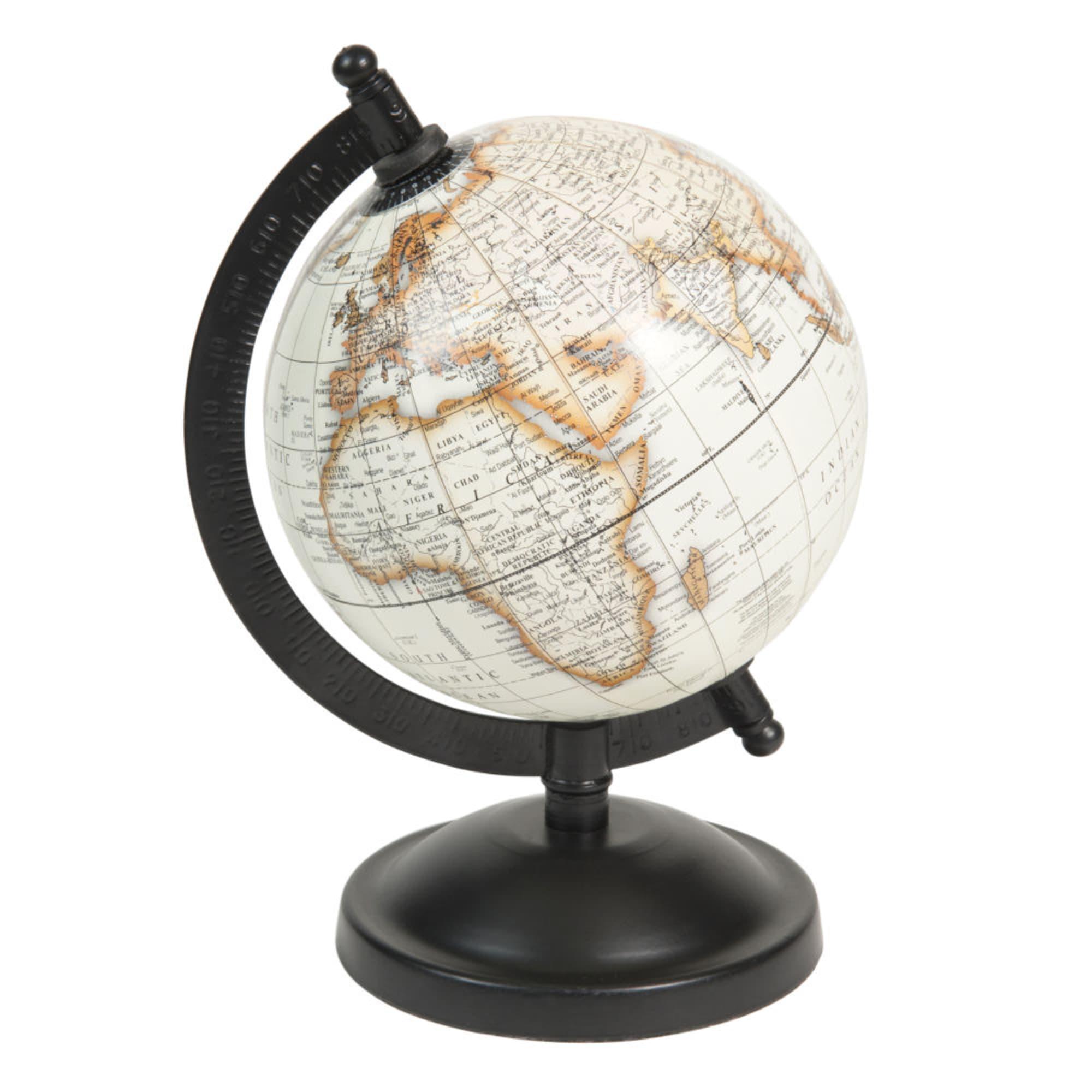 Globe terrestre carte du monde