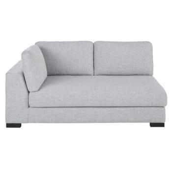 Ausziehbares Modulares Sofa Armlehne Links Hellgrau Terence Maisons Du Monde