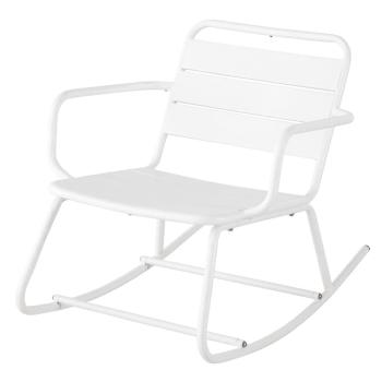Verrassend Schommelstoel voor buiten van blauwgrijs metaal Batignolles NE-55