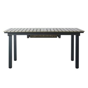 Table de jardin extensible 6/10 personnes en aluminium et ...