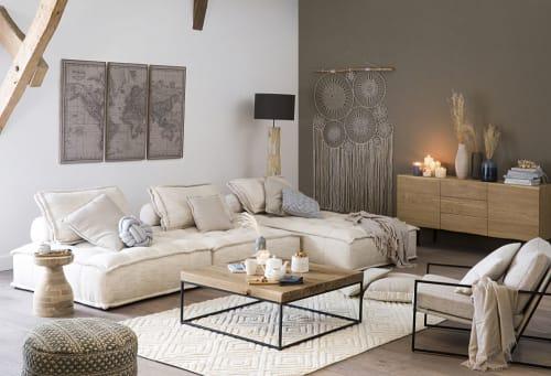 10 White Cotton Hang-Up Dreamcatchers 10x10  Maisons du Monde