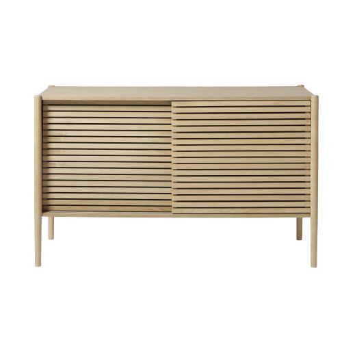 the latest 3dacd c8a08 2-Door Sideboard with Solid Ash Legs