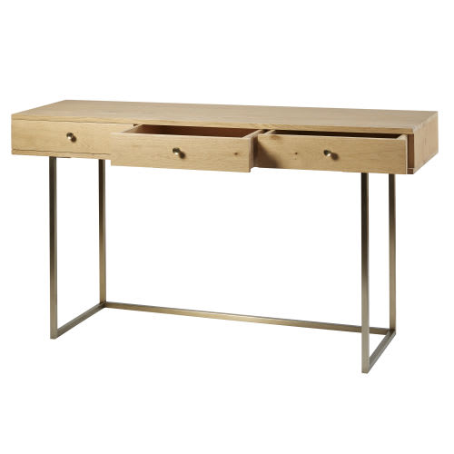quality design 6aec3 45fb7 3-Drawer Console Table