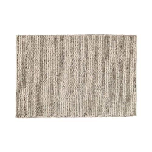 Alfombra de lana beis 200 x 300 cm Industry | Maisons du Monde