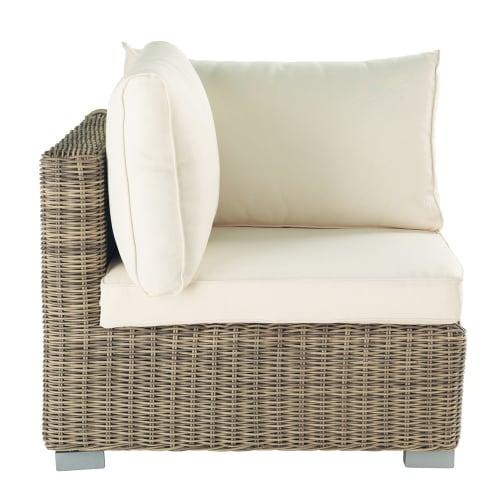 Angolo di divano da giardino in resina intrecciata Per il giardino