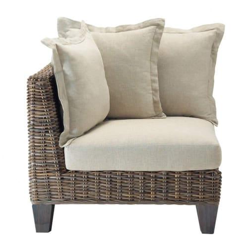 Angolo di divano in rattan Kubu | Maisons du Monde