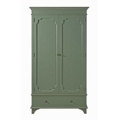 Armoire 9 portes 9 tiroir vert kaki  Maisons du Monde