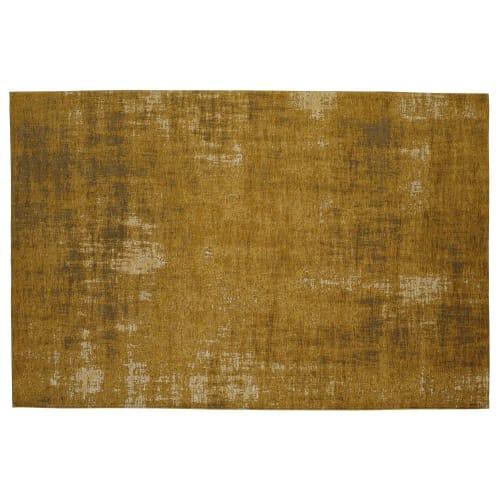 Baumwollteppich Senfgelb 140x200 Maisons Du Monde