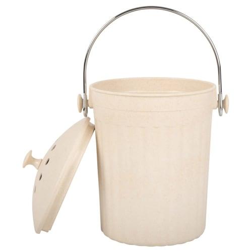 Beige Compost Bin Maisons Du Monde