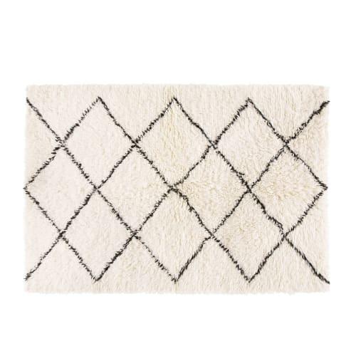 Berber Teppich Aus Wolle Und Baumwolle 140x200