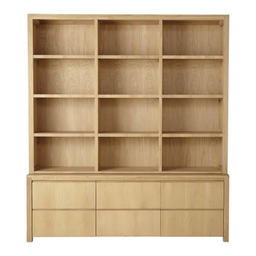 Bibliothèque 10 tiroirs 10 portes  Maisons du Monde