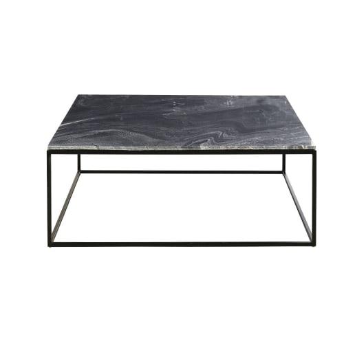 Black Marble Coffee Table Marble Maisons Du Monde