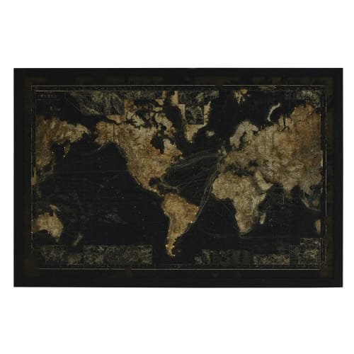 Map monde Keychain 4,4 x 5 cm