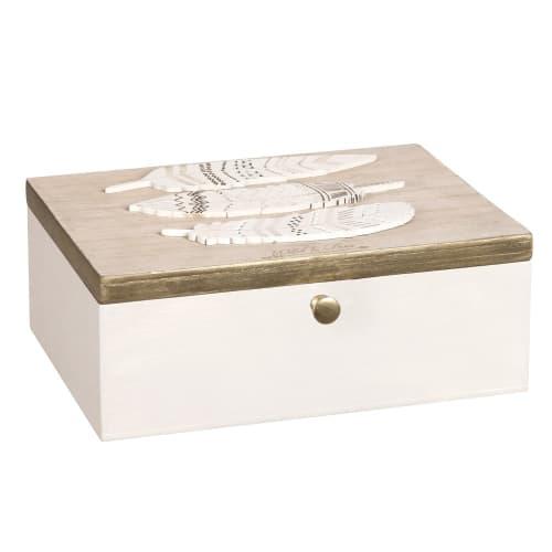 Boîte à bijoux écrue  Maisons du Monde