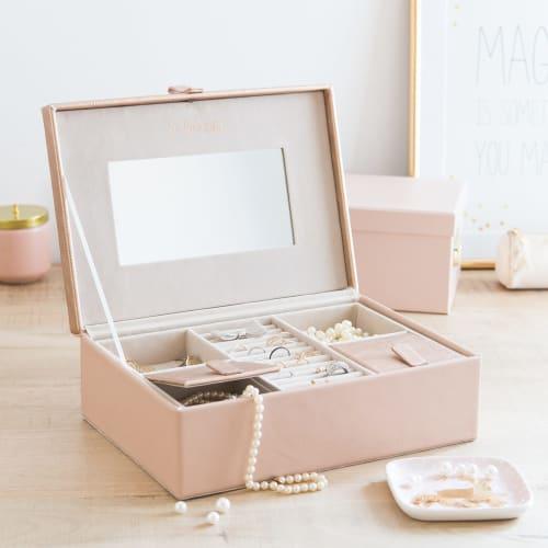 Boite A Bijoux Rose So Pretty Maisons Du Monde