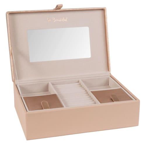 Boîte à bijoux rose  Maisons du Monde