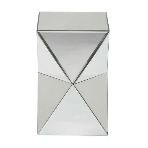 Bout De Canapé Miroir L 33 Cm