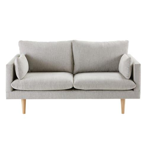 Canapé 8 places gris clair  Maisons du Monde