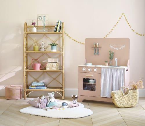 Carrousel muziekdoos met roze, witte en gouden eenhoorn   Maisons du Monde