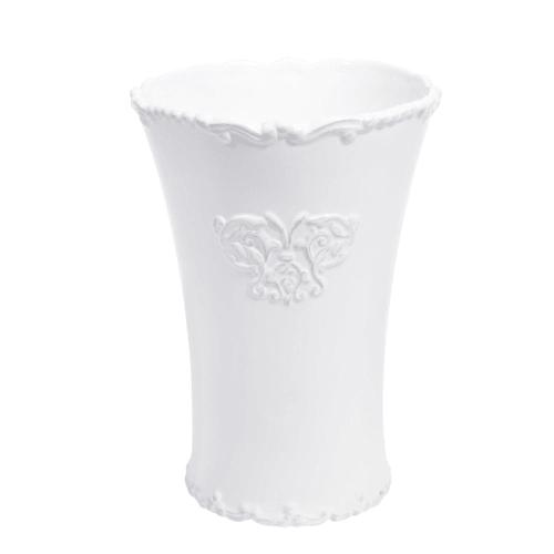 ceramic vase in white H 9cm  Maisons du Monde