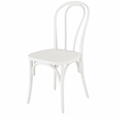 Chaise en hêtre blanc | Maisons du Monde