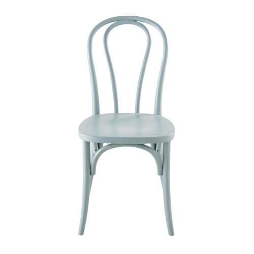 Chaise en hêtre bleu céladon | Maisons du Monde
