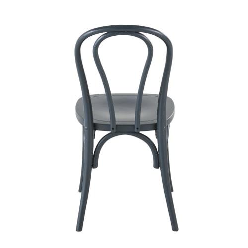 Chaise en hêtre gris bleu | Maisons du Monde