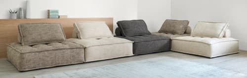 en soldes 748cf 9cb1e Chauffeuse de canapé coloris sable