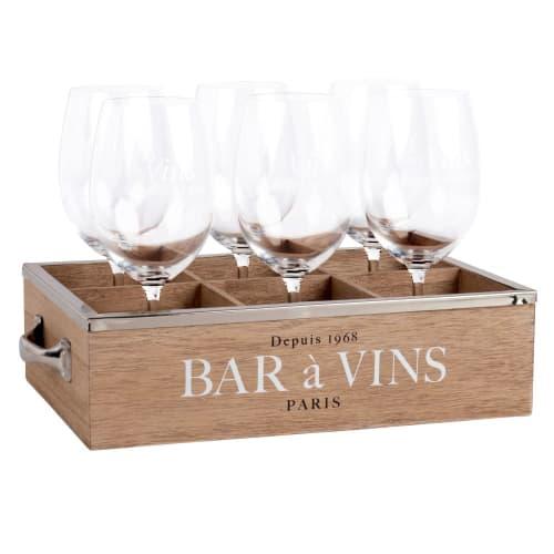 Coffret 6 verres à vin | Maisons du Monde