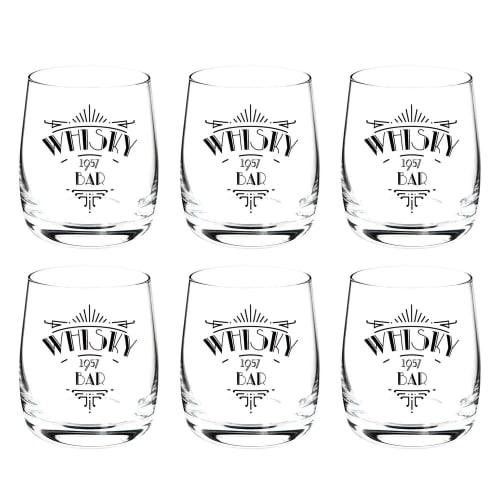Coffret de 6 verres à whisky | Maisons du Monde
