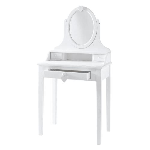 Coiffeuse 9 tiroirs blanche  Maisons du Monde