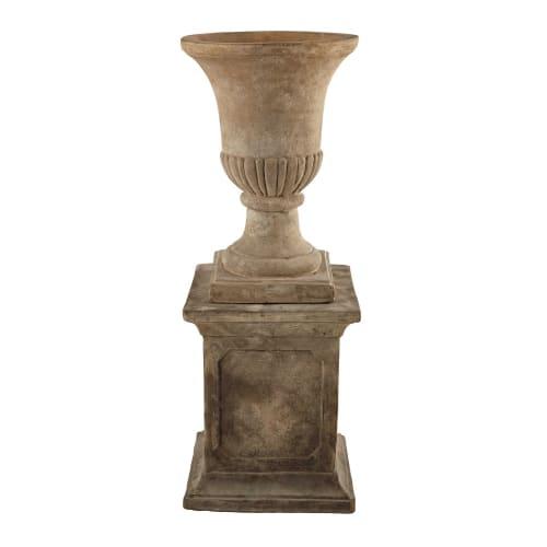 Coupe colonne en terre cuite H 100 cm | Maisons du Monde