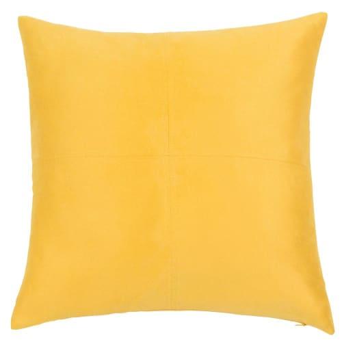Coussin jaune 40x40 Swedine   Maisons du