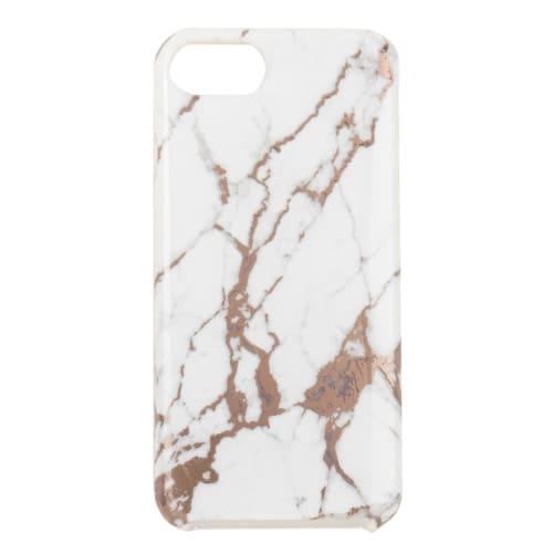 Custodia in plastica stampa marmo per iPhone 6/7/8   Maisons du Monde