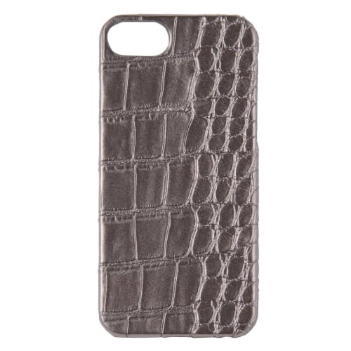 Custodia I Phone 6/7/8 Metallizzata Effetto Pelle Di Serpente by