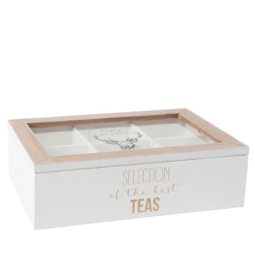 Deer Print Tea Canister Maisons Du Monde