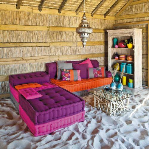 Lenzuola Matrimoniali Maison Du Monde.Divanetto Angolari Multicolore In Cotone 6 Posti Bolchoi Maisons