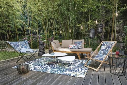 Il Gigante Tavoli Da Giardino.Divanetto Da Giardino Modulabile In Acacia 3 Posti Relax Maisons
