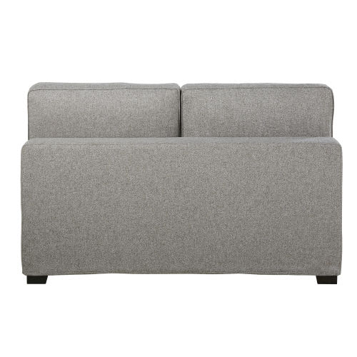 Astonishing Double Marled Grey Armless Sofa Machost Co Dining Chair Design Ideas Machostcouk