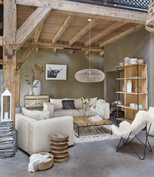 Tavolini Soggiorno Maison Du Monde.Ecru Cotton And Wool Rug 140x200 Dolce Maisons Du Monde