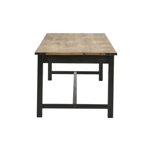 Esstisch aus Mangoholz und Metall, für 68 Personen, L160 | Maisons du Monde