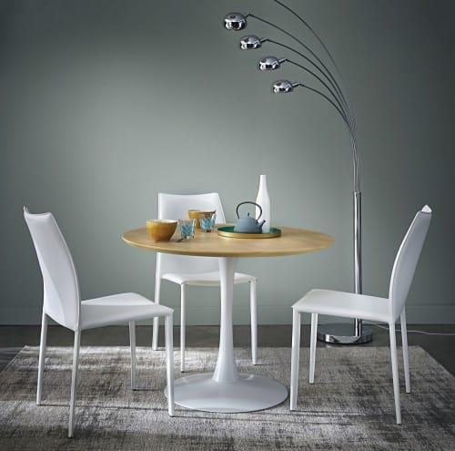 Runder Esstisch, weiß D.100cm Circle | Maisons du Monde