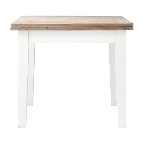 Extendible 4 8 Seater Dining Table L90 180 Provence Maisons Du Monde