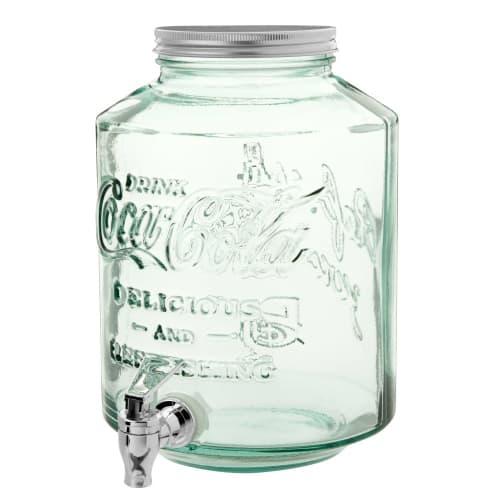 fontaine de boisson en verre 5l maisons du monde