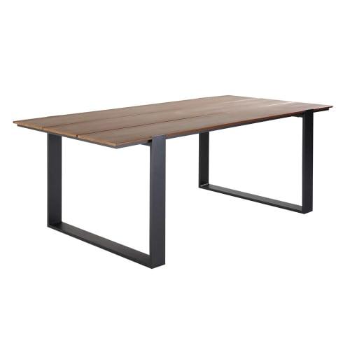 Gartentisch Für 6 Personen.Gartentisch Für 6 Personen Aus Verbundmaterial Und Aluminium L200