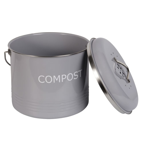 Grey Metal Pot Kitchen Maisons Du Monde